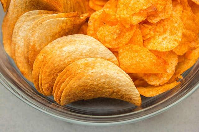 Kartoffel chips hindern Fettverbrennung